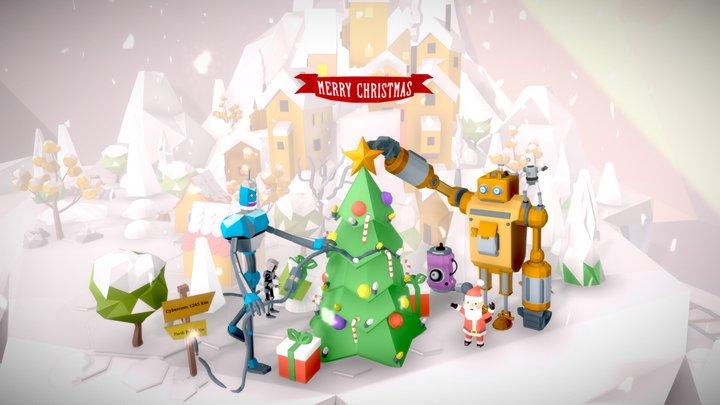 Jul Frukost/Connected Christmas 3D Model