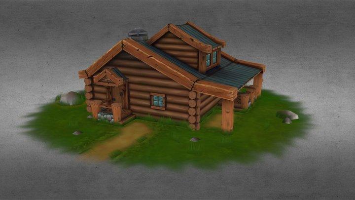 Loghouse 3D Model