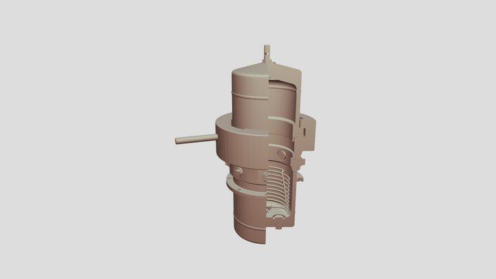 HTP XF 1-4 3D Model