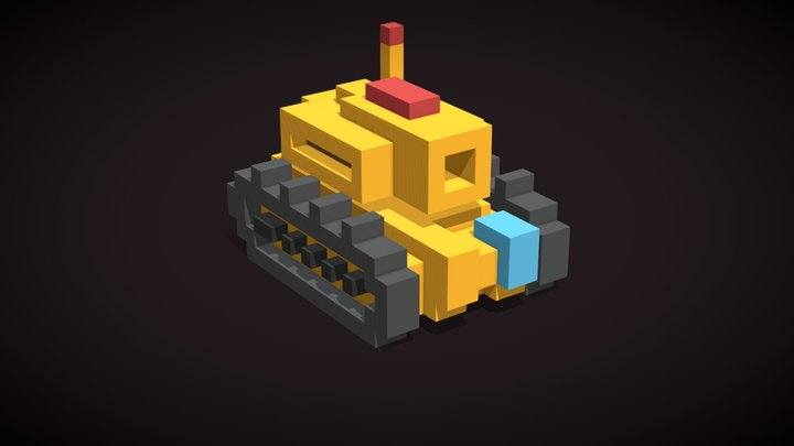 Heavy Tank (Starfleet Pilot) 3D Model