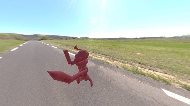 David+ Andreas Devil 3D Model