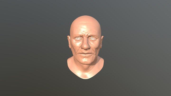 Old man study 3D Model