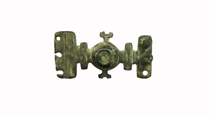 A bronze clasp 3D Model