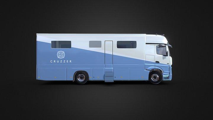 Cruzzer 3D Model
