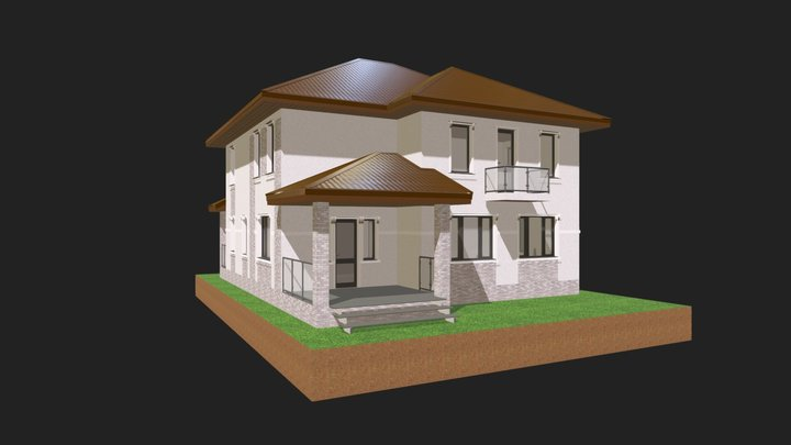 К150-044 3D Model