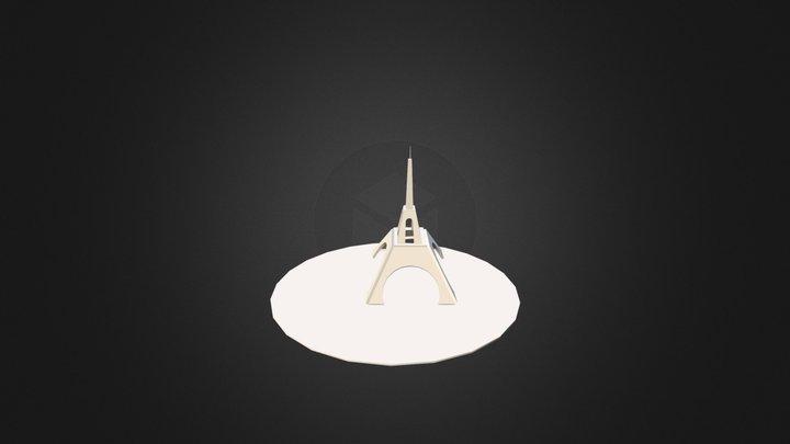 Schéma Tour Eiffel - Copie 3D Model