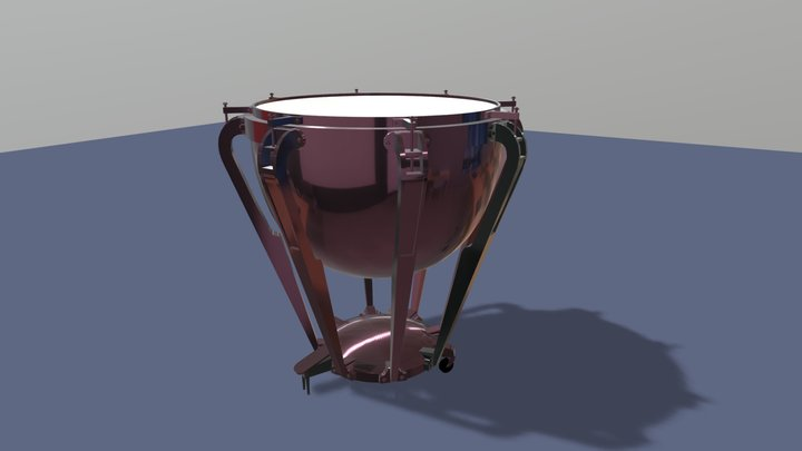 Timpani 3D Model