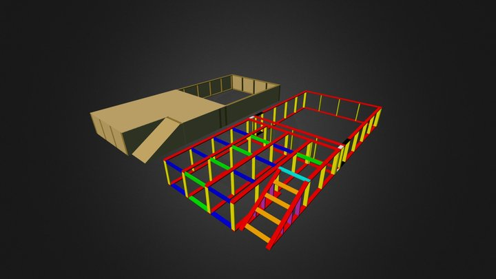 Pit, Stuts And Ply  3D Model