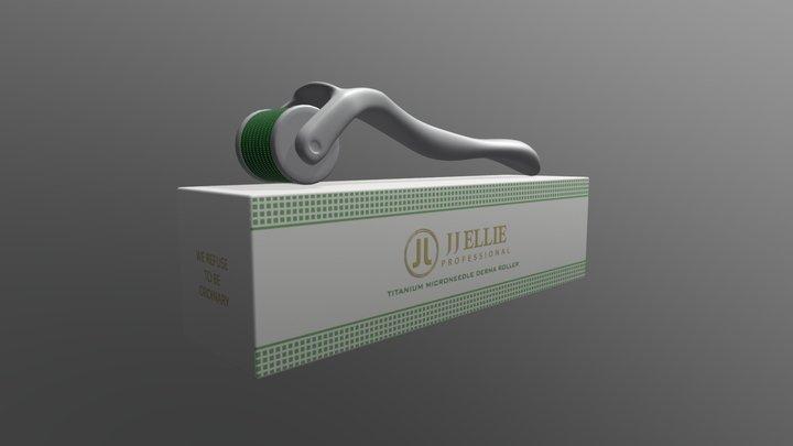 White Darma Roller 3D Model
