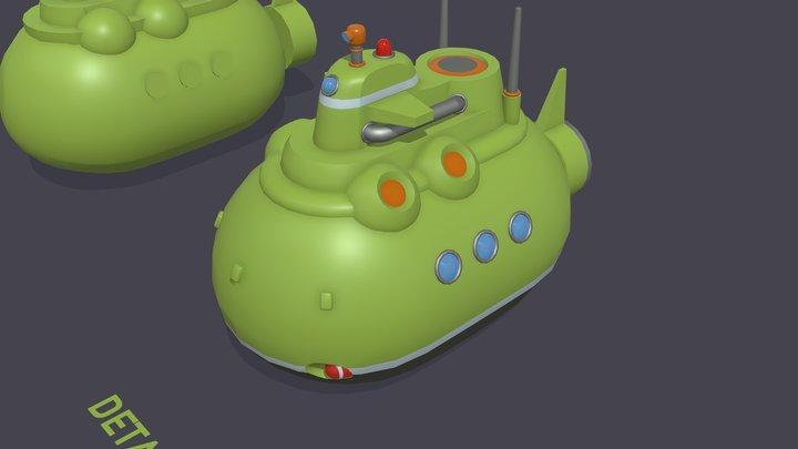 Homework 5.3 - Submarine 3D Model