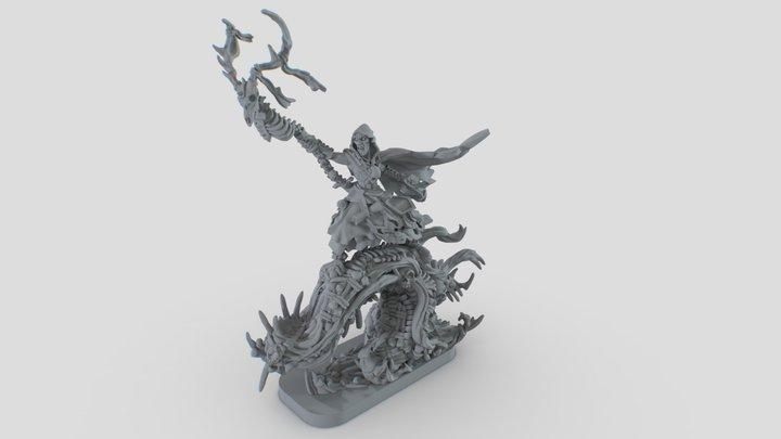 Ankaur Maro - Runewars Miniature 3D Model