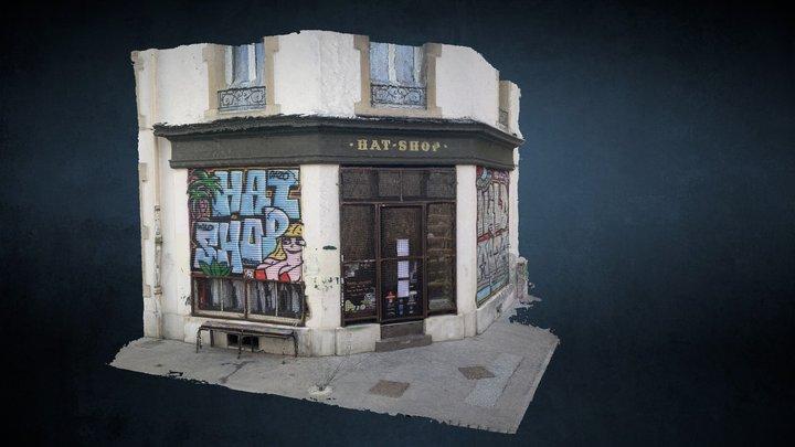 Hat-Shop 3D Model