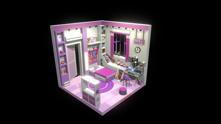 Su's room 3D Model