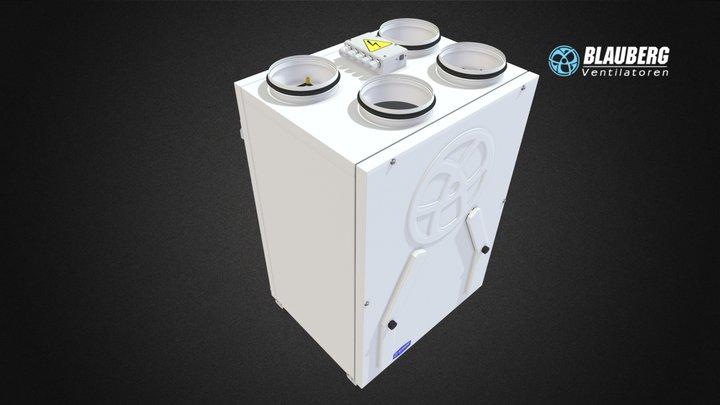 Blauberg Komfort EC SB 250 3D Model