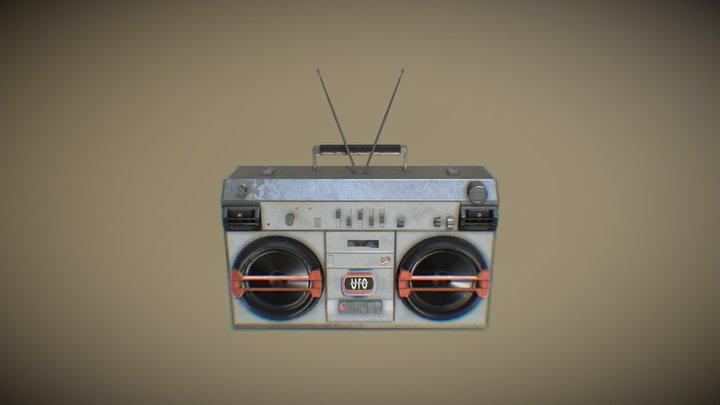 Radio010 3D Model