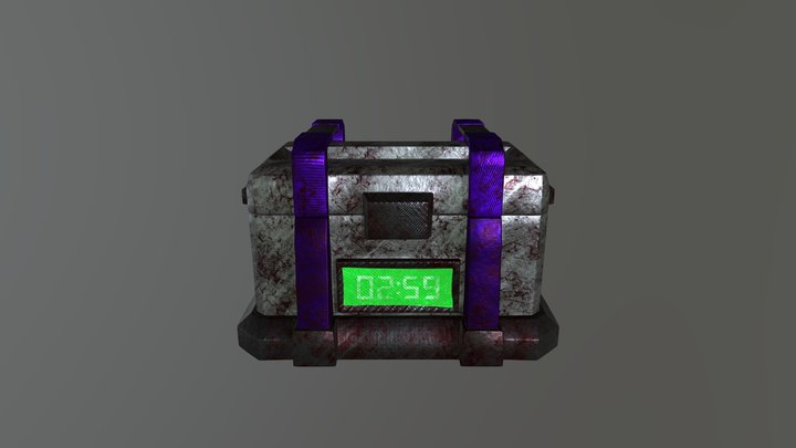 Container 1.1 3D Model
