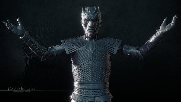 The Night King 3D Model