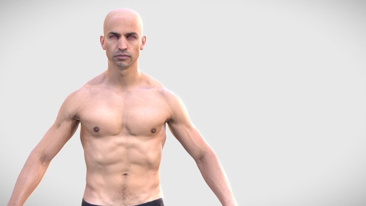 HD Human Man Scan - 263MBody 3D Model