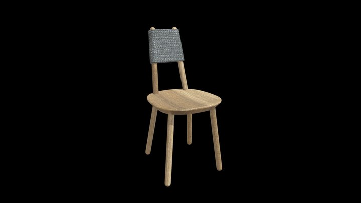 Naive Chair 3D Model