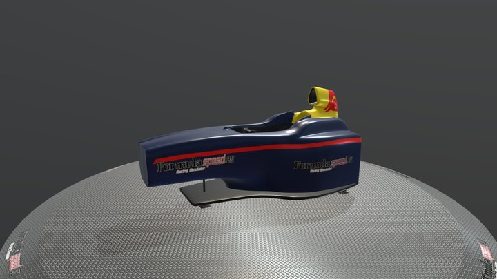 Red Bull Formula Home - Formulaspeed 3D Model