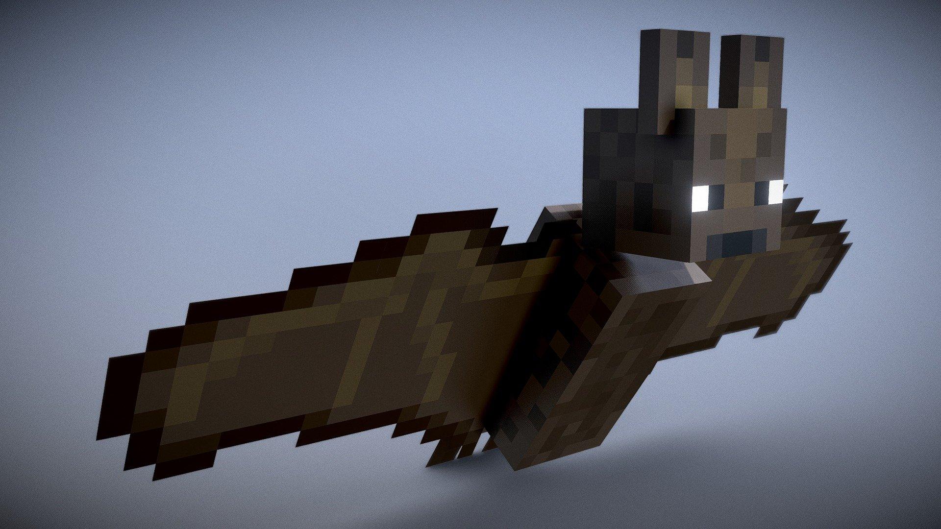 Minecraft - Bat - Download Free 3D model by Vincent Yanez ...