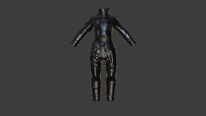 Edward-outfit-WIP 3D Model