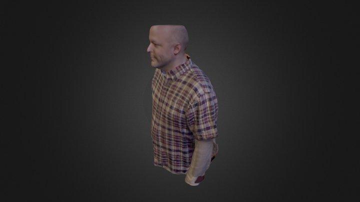 Matt Bust 3D Model