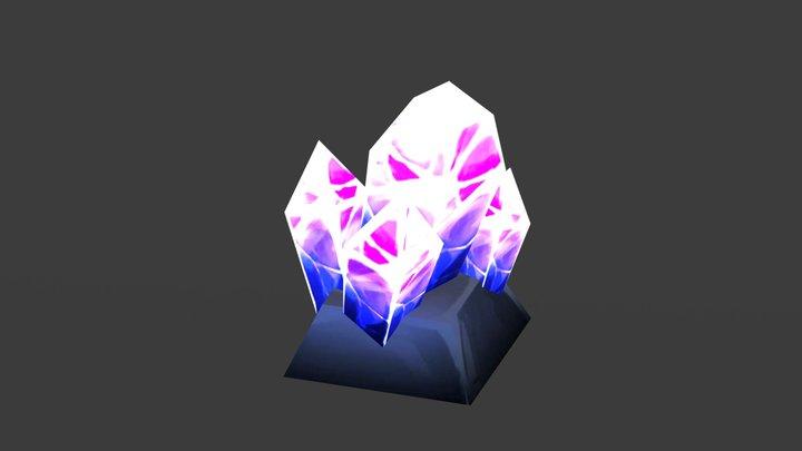 Crystal Export 3D Model