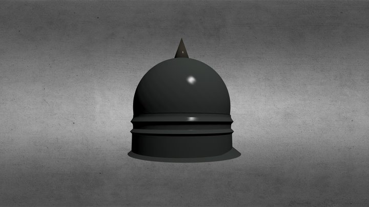 Capacete Castrejo V0 3D Model