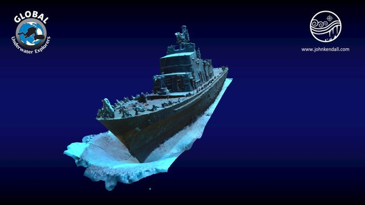 P29 Shipwreck, Malta 3D Model