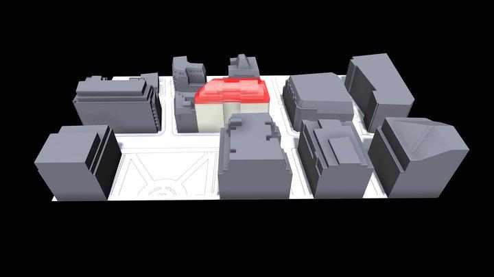 Massing comparison 3D Model