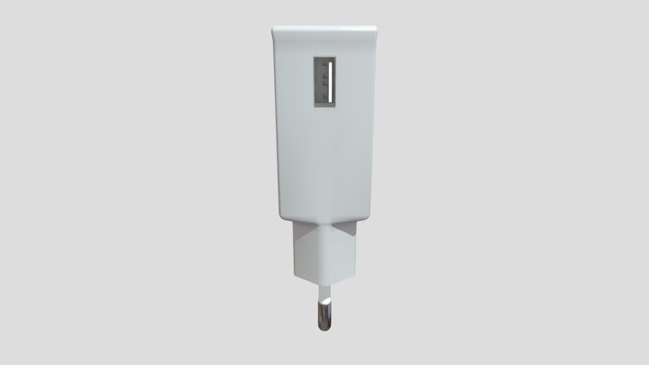 Phone Charger USB 3D Model