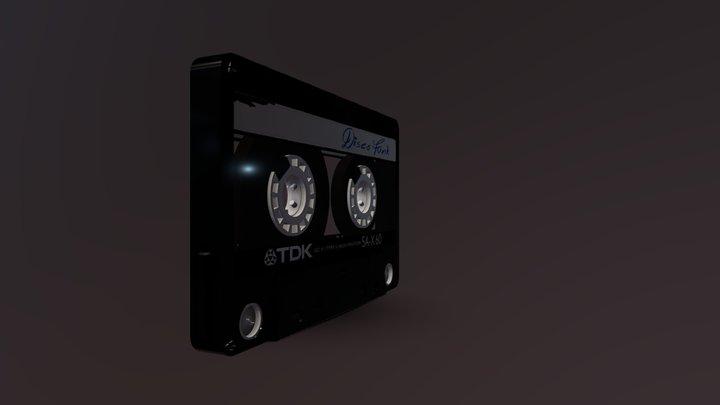 cassette audio (k7) 3D Model