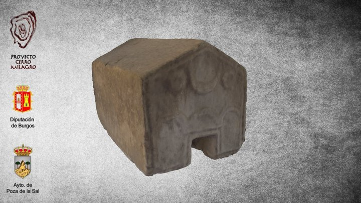 Estela oikomorfa 3D Model