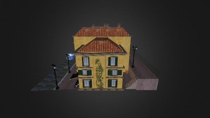 Cityscene (Lucca) 3D Model