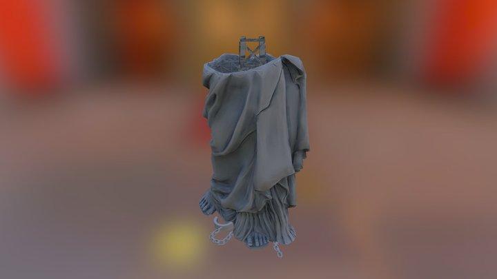 StatueOf_Liberty_Feet 3D Model
