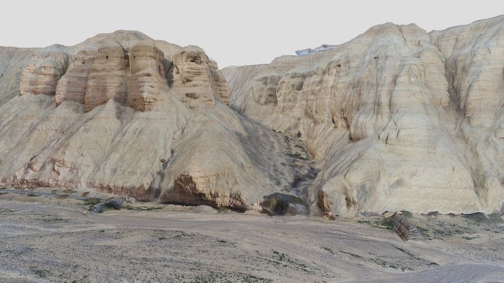 Qumran National Park - גן לאומי קומראן 3D Model
