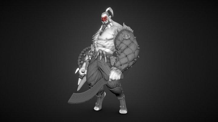 Orc Bouncer 3D Model