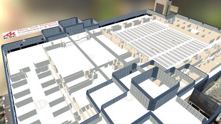 Jacob Javits Convention Center - ICSC #NYConf 3D Model