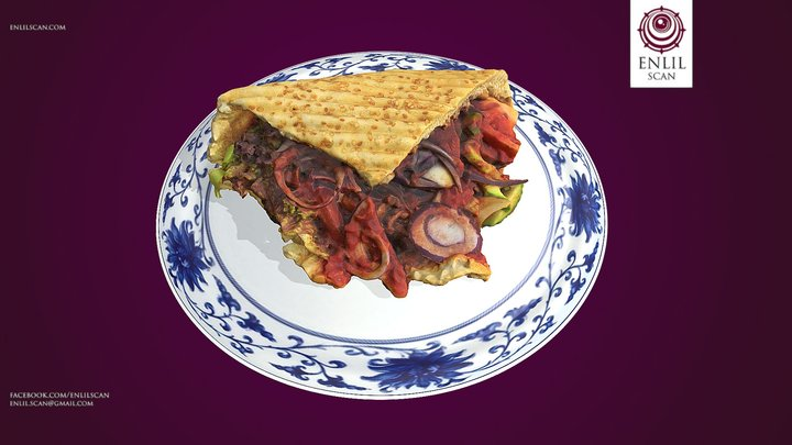 Kebab 3D Model