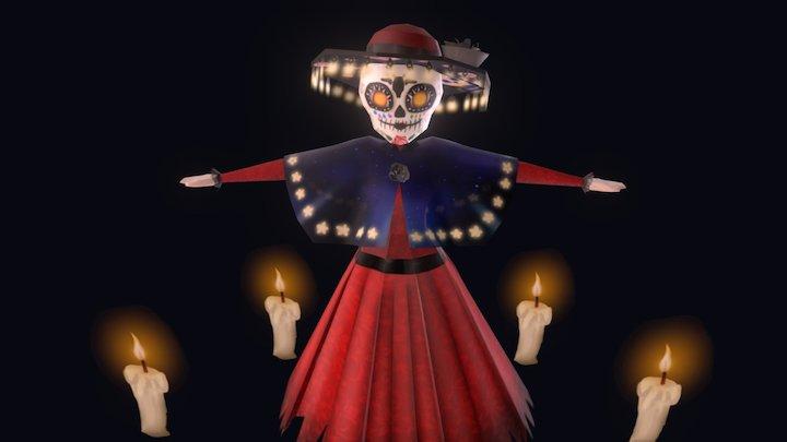 Dia De Muertos 3D Model