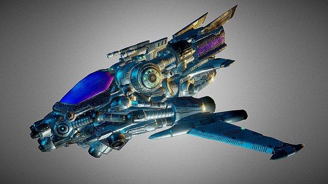 Slip Ship (Drone On) 3D Model