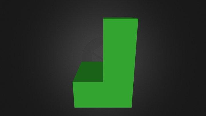 Demo Green Part 3D Model