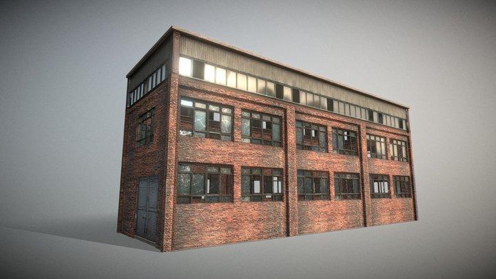 Old Industrial Building 3D Model
