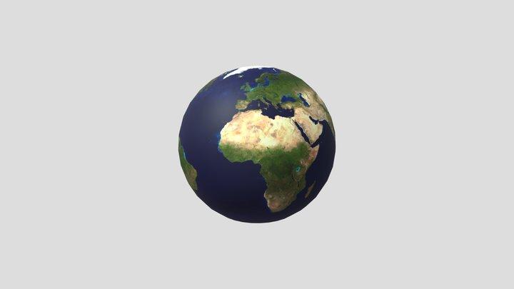 Tierra 3D Model