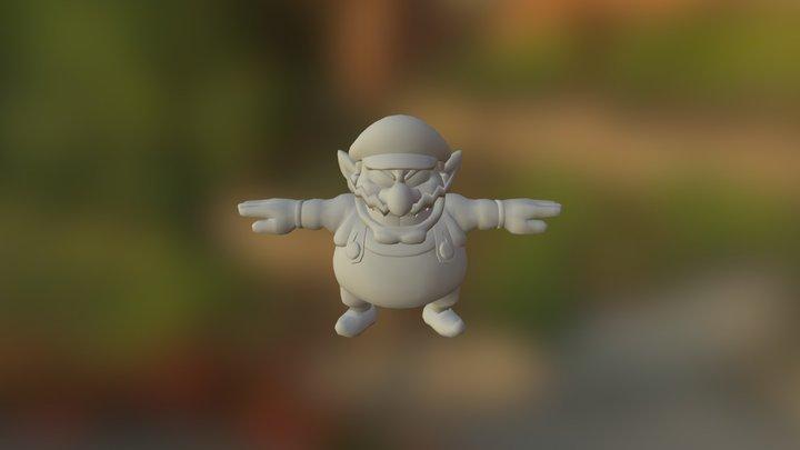 Fit Wario06 3D Model