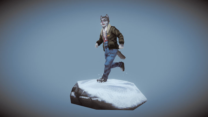 Unlucky Seven - Moreau 3D Model