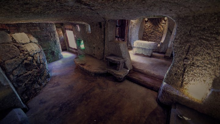 CAVERNUM - cave apartment #1 3D Model