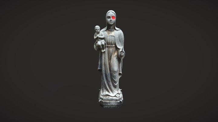 Virgen Obispado 3D Model