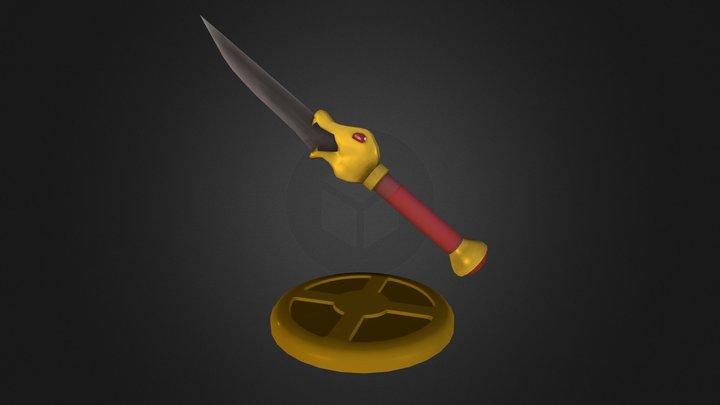 The Dagger of Xian 3D Model